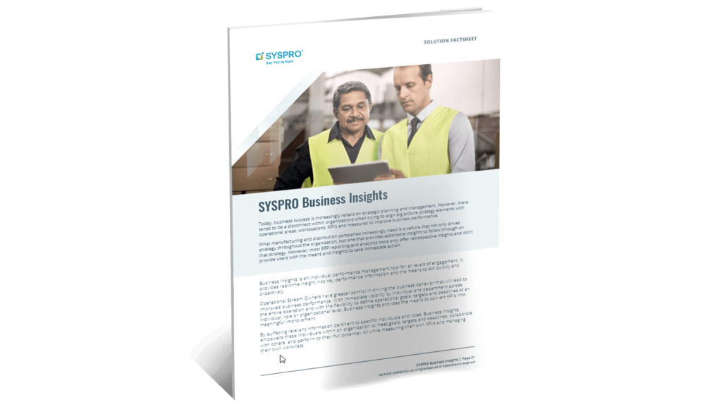 SYSPRO-ERP-software-system-business-insights-factsheet