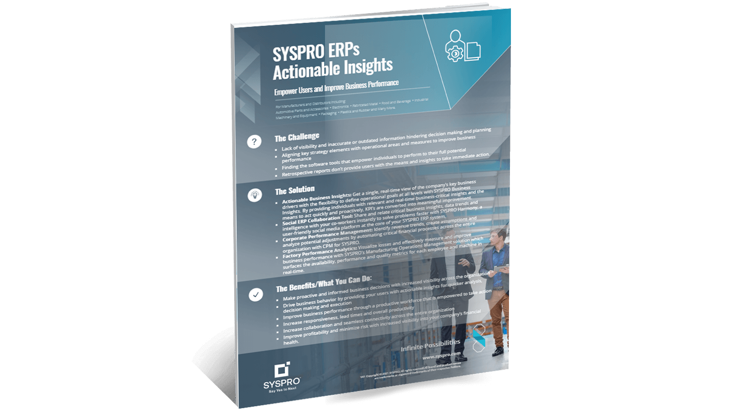 SYSPRO-ERP-software-system-actionable-insights-infographic